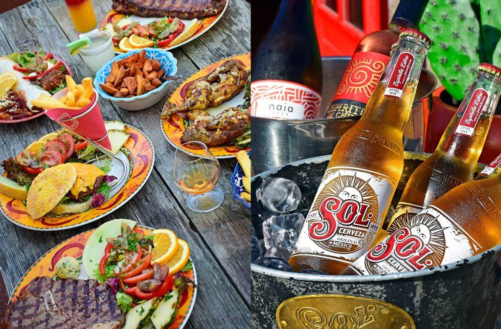 Mexicaans eten in Midsland